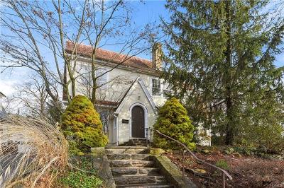 Dobbs Ferry Single Family Home For Sale: 85 Mohican Park Avenue