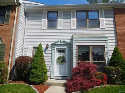 Peekskill Condo/Townhouse For Sale: 24 Poplar Circle #24