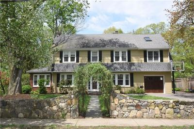 Croton-On-Hudson Single Family Home For Sale: 37 Van Wyck Street