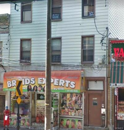 Bronx Multi Family 2-4 For Sale: 3813 White Plains Road