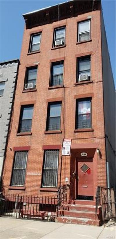 Brooklyn Multi Family 2-4 For Sale: 899 Pacific Street