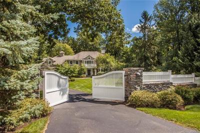 Chappaqua Single Family Home For Sale: 118 Hardscrabble Lake Drive