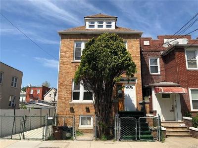 Bronx Multi Family 2-4 For Sale: 859 East 229 Street