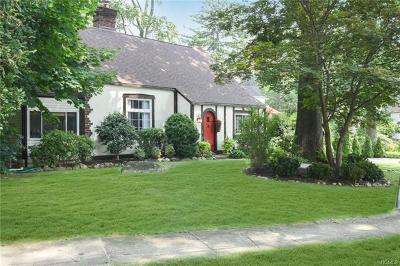 Westchester County Single Family Home For Sale: 1 Woodlawn Avenue
