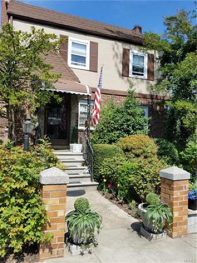 Yonkers Single Family Home For Sale: 155 Kimball Terrace