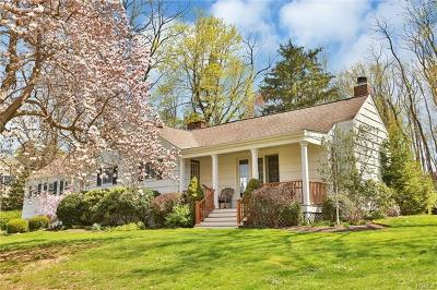 Chappaqua Single Family Home For Sale: 31 Aldridge Road