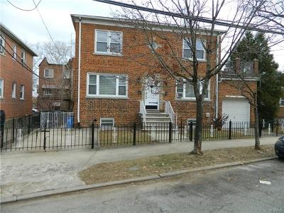 Bronx Multi Family 2-4 For Sale: 1254 Hollywood Avenue