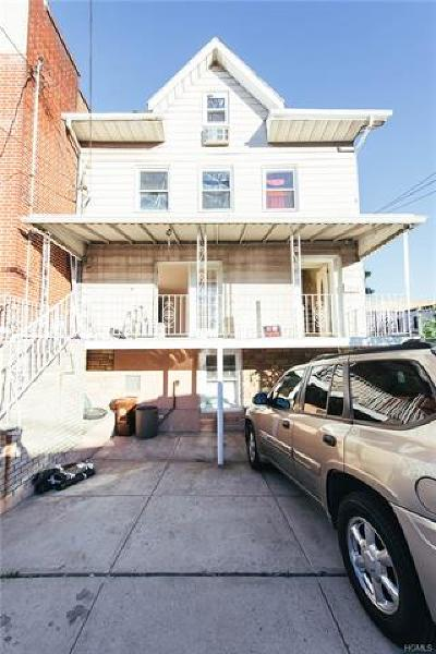 Bronx Multi Family 2-4 For Sale: 2610 Chesbrough Avenue