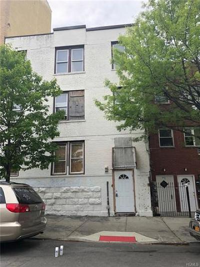 Bronx Multi Family 2-4 For Sale: 1039 Hall Place