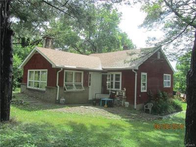 Bloomingburg Multi Family 2-4 For Sale: 122 Pickles Road