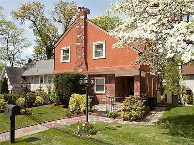 Yonkers Single Family Home For Sale: 75 Ridge Drive