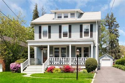Scarsdale NY Single Family Home For Sale: $849,000