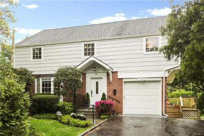 Scarsdale Single Family Home For Sale: 36 Mount Joy Avenue