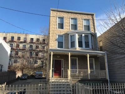 Bronx NY Multi Family 2-4 For Sale: $1,300,000