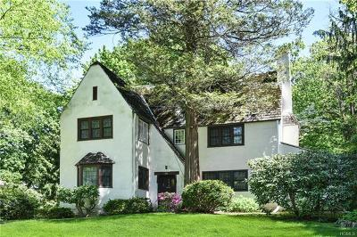 Scarsdale Single Family Home For Sale: 96 Walworth Avenue