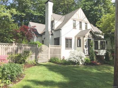 Scarsdale Single Family Home For Sale: 41 Robin Hill Road