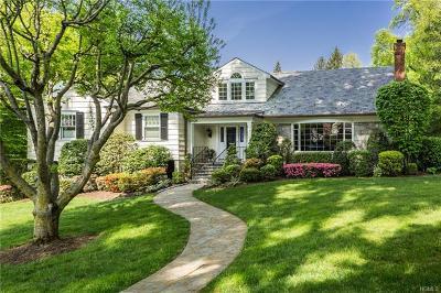 Bronxville, Eastchester, Hartsdale, New Rochelle, Scarsdale, Tuckahoe, White Plains, Yonkers Single Family Home For Sale: 4 Leggett Road