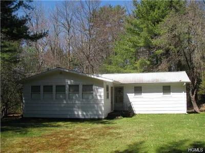 Single Family Home For Sale: 696 Mohican Lake Road