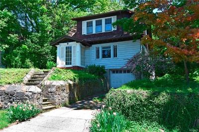 Hastings-On-Hudson Single Family Home For Sale: 14 Euclid Avenue