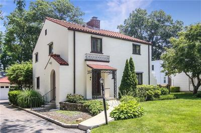 Scarsdale Single Family Home For Sale: 164 White Road