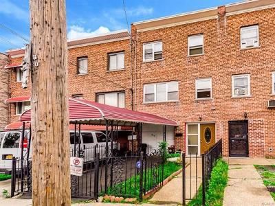Bronx Single Family Home For Sale: 865 East 223 Street