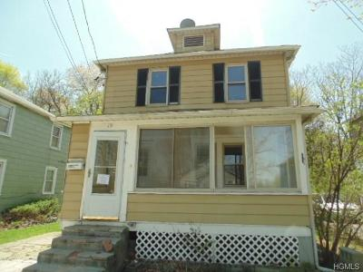 Newburgh Single Family Home For Sale: 19 East Stone Street