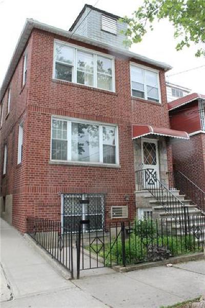 Bronx Multi Family 2-4 For Sale: 1829 Bogart Avenue
