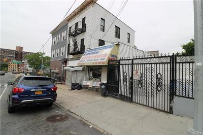 Bronx Commercial For Sale: 443 East 180th Street
