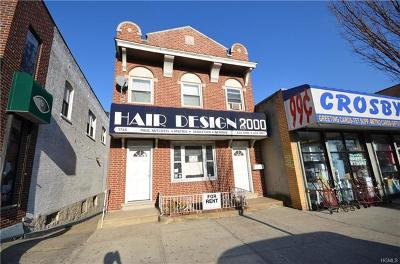 Bronx Commercial For Sale: 1746 Crosby Avenue