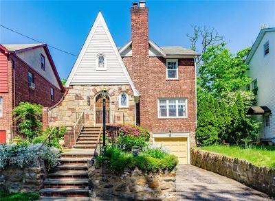 Westchester County Single Family Home For Sale: 172 Aka 174 Hayward Street