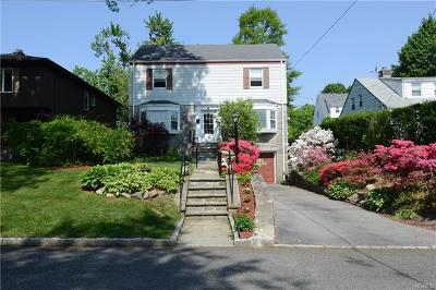 Scarsdale Single Family Home For Sale: 59 White Road