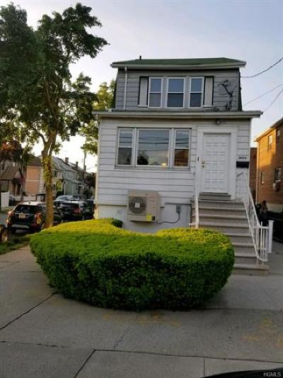 Bronx NY Single Family Home For Sale: $665,000