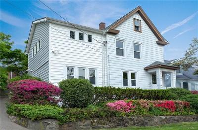 Dobbs Ferry Single Family Home For Sale: 56 Ogden Avenue