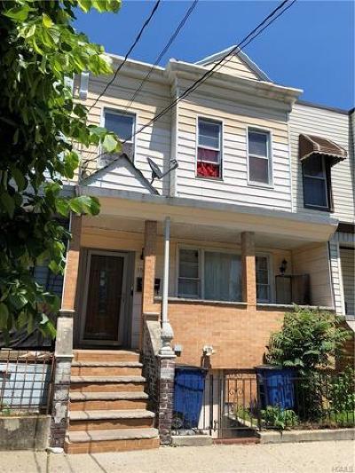 Bronx NY Multi Family 2-4 For Sale: $599,000