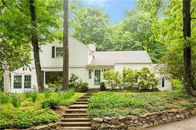 Chappaqua Single Family Home For Sale: 1086 Hardscrabble Road