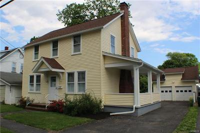 Port Jervis Single Family Home For Sale: 25 Glass Street