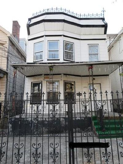 Bronx Multi Family 2-4 For Sale: 2863 Briggs Avenue