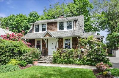 Chappaqua Single Family Home For Sale: 27 Poillon Drive
