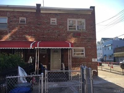 Bronx Single Family Home For Sale: 1425 Beach Avenue