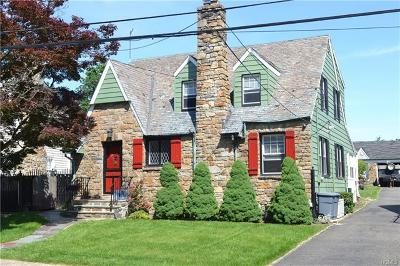 Yonkers Single Family Home For Sale: 38 Raymond Place
