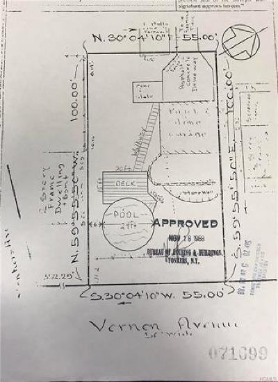 Yonkers Residential Lots & Land For Sale: 37 Vernon Avenue