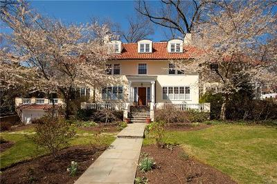 Bronxville Single Family Home For Sale: 2 Dellwood Road