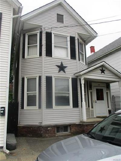 Port Jervis Single Family Home For Sale: 38 King Street