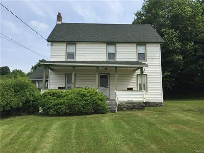 Fallsburg Single Family Home For Sale: 382 State Road Rt 52