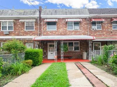 Bronx Single Family Home For Sale: 2212 Seward Avenue