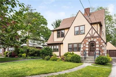 New Rochelle Single Family Home For Sale: 122 Argyll Avenue