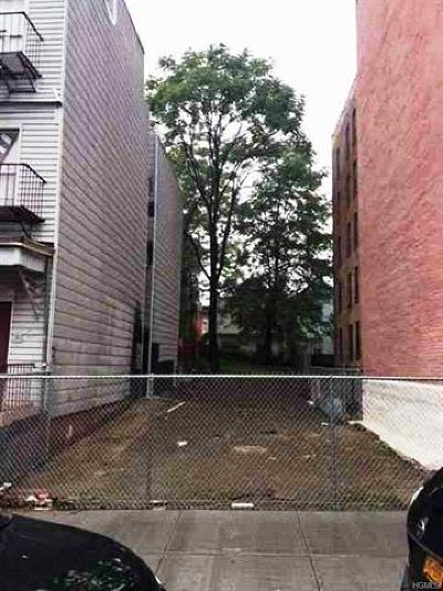 Bronx Residential Lots & Land For Sale: 3133 Decatur Avenue
