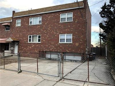 Bronx Multi Family 2-4 For Sale: 2703 Waterbury Avenue