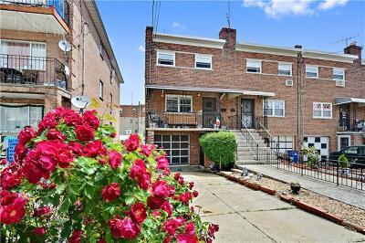 Bronx Single Family Home For Sale: 282 Balcom Avenue