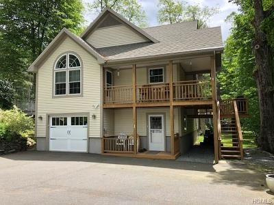 Cuddebackville Single Family Home For Sale: 1 Paradise Road